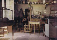 Cezanne's studio. This takes me breath away.