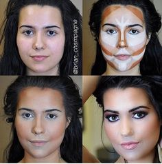 I can't believe this is a thing now?! Make up is meant to have fun enhancing your natural features, not creating a new face.
