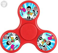 Teen Titans Fidget Spinner Toy Cartoon Tri-Hands Stress Reducer EDC ADD ADHD - Fidget spinner (*Amazon Partner-Link)