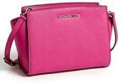 MICHAEL Michael Kors 'Selma - Medium' Leather Shoulder Bag on shopstyle.com