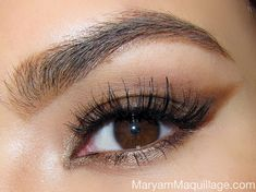 love this makeup {plus there's a tutorial on how to get this look}