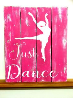 Dance Decor Dance Art Dance Sign Dance Wall by TamieMarieDesign