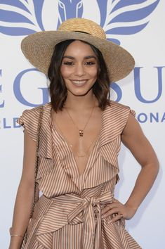 Vanessa Hudgens attends the Inaugural $12 Million Pegasus World Cup Invitational, the World's Richest Thoroughbred Horse Race.