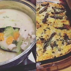 I feel like crap so I'm having comfort keto food. Creamy chicken soup and a green bean casserole. Hearty  #keto #ketos #ketofam #ketosis #ketosdiet #ketogenic #ketogenicdiet #ketogeniclifestyle #weightloss #weightlossjourney #weightlosstransformation #hflc #lfhc #ketoasfuck #atkins by keto_livia