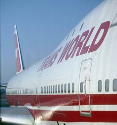 TWA Jumbo 747 - Trans World Airlines