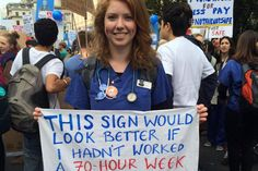 Junior doctor protest: thousands gather outside parliament to campaign against NHS contract changes | Fountain Facts