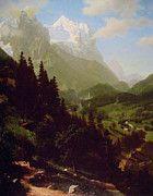 """New artwork for sale! - """" The Wetterhorn by Albert Bierstadt """" - http://ift.tt/2oTeFS6"""