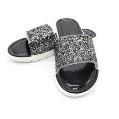 2019 New Summer Flats Strap Summer Sandals With Buckle Summer Flip Flops Plus Si Women's Pumps, Pump Shoes, Shoe Boots, Flats, Sparkly Shoes, Glitter Shoes, Flat Leather Boots, Warm Snow Boots, Women Slides