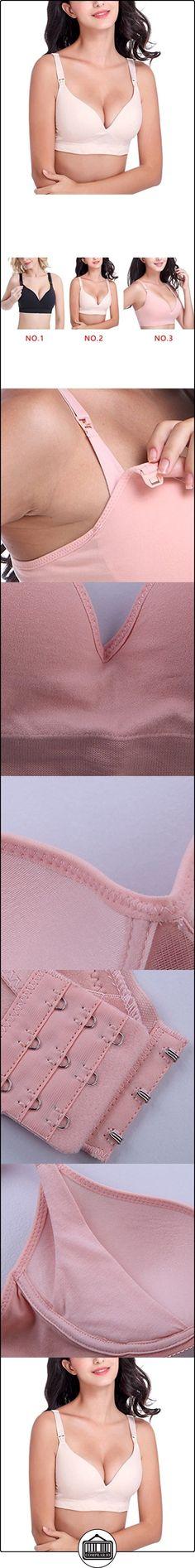 LUFA Un sujetador de la ropa interior de las mujeres de la viruta embarazada sin las llantas Abra el sujetador de pecho abotonado del estilo  ✿ Seguridad para tu bebé - (Protege a tus hijos) ✿ ▬► Ver oferta: http://comprar.io/goto/B06XB7V5SY