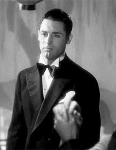 "Cary Grant already looking elegant and gorgeous in one of his earliest films, ""Hot Saturday"" from 1932."