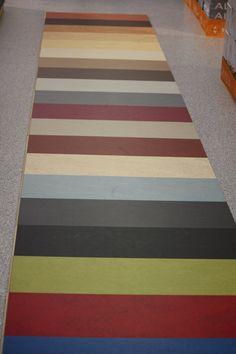 Marmoleum floors