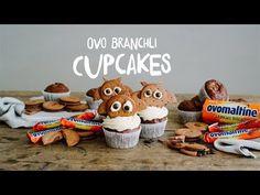 Rezept: Ovo Branchli Cupcakes - YouTube Cupcake Youtube, Halloween, Teddy Bear, Toys, Eat, Branches, Muffins, Yummy Cupcakes, Birthday