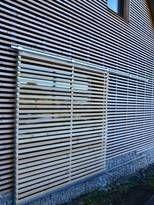 SORTIM : Venkovní dřevěné fasády z materiálu modřín sibiřský