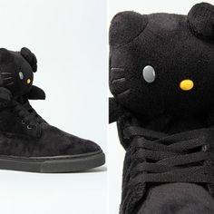 The Ubiq x Hello Kitty Sneaker in Black