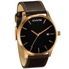 White/Gold Leather | MVMT Watches