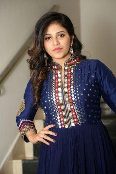 Anjali Stills From Chitrangada Movie Pre-Release Function