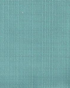 """Outdoor - Sunnyside, Aqua""  58"" wide 100% Spun Polyester   Good for 1000 hours of sun! A beautifully, woven, solid aqua green-blue, outdoor fabric with a soft-to-the-touch, woven finish.   Perfect for drapery, curtains, pillows, foam bench or furniture covers and more. Suitable for indoors as well."