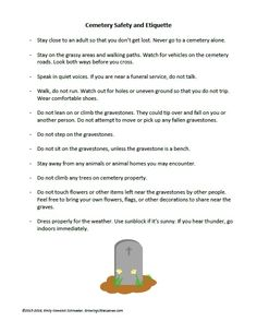 Printables - Growing Little Leaves: Genealogy for Children Make A Family Tree, Etiquette, Ancestry, Cemetery, Genealogy, Children, Kids, Safety, Death