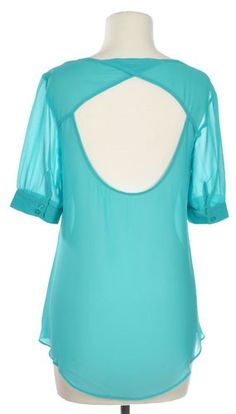 Deep Pockets Top in Turquoise - $35
