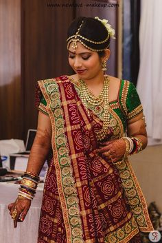 The Mumbai Bride Diaries: Final Bridal Pictures Indian Wedding Gowns, Indian Bridal Outfits, Indian Bridal Fashion, Indian Dresses, Bridal Dresses, Indian Weddings, Saree Wedding, Bandhani Dress, Saree Dress