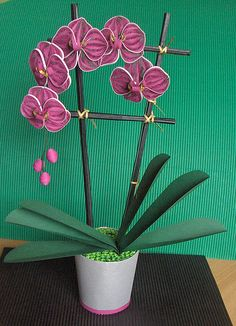 Quilled Orchid/Orhideja