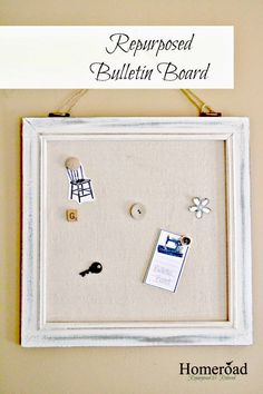Come see how a broken Marshall's clearance item became 2 easy and beautifully repurposed projects! www.homeroad.net