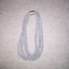 Blue pearl necklace Vintage costume jewelry inherited by my great grandma. Jewelry Necklaces