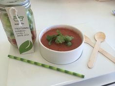 VERDERANA DETOX Salad in a jar + gazpacho #begreen #alwaysgreen