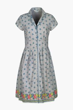 Our bestselling tea dress. In unique Seasalt prints and a flattering fit and flare style. A vintage-style shirtdress that looks great whatever the weather.