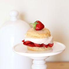 Shortcakes aux fraises - Cakes in the city