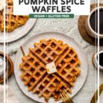 Pumpkin Spice Waffles, Pumpkin Puree, Vegan Gluten Free, Vegan Vegetarian, Fall Breakfast, Breakfast Options, Plant Based Recipes, Spices, Nutrition