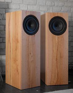 Best Speakers, Diy Speakers, Built In Speakers, Floor Standing Speakers, Altec Lansing, Speaker Design, High End Audio, Pc Setup, Home Cinemas