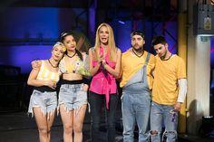 Nadia, Adrián, Marshal y Carla, nominados en Fama a Bailar Dancing