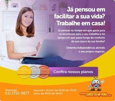 """MULHERES LUCRAM COM A VENDA DE CAMISETAS : MULHERES LUCRAM COM A VENDA DE BEM-CAMISETAS HUMORADAS NA INTERNET  Em busca da independência financeira, muitas mulheres têm se aventurado no mercado de franquias de diferentes setores. E uma franchising que tem conquistado cada vez mais o gosto das brasileiras é a """"Camisetas da Hora"""". A empresa inaugurou um sistema de micro franquias em 2011 e demonstrou ser uma ótima opção para quem quer lucrar com a"""