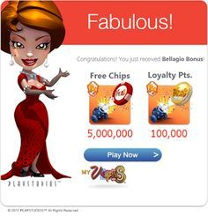 To get the nearly all MyVegas-Slots-Free-Chips free of charge potato chips, you need to stick to excellent MyVegas tactic. Follow this @ --> http://www.myvegas-slots-free-chips.blogspot.com/2015/07/get-myvegas-slots-free-chips-daily-for.html