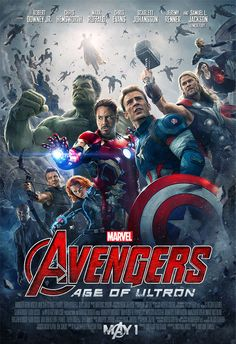 Today is the AVENGERS Day!  Can't wait.