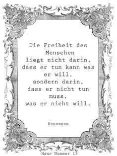 Rousseau. Die Freiheit des Menschen
