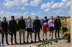 2016 2/7 rit 1 Sainte-Marie-du-Mont/Utah Beach > Utah Beach moment of memory.  Keeping things in perspective, commemorative ceremony post the stage