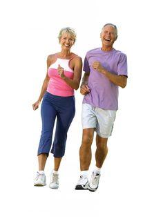 Seniors Walking Indoors Toward seniors or classes