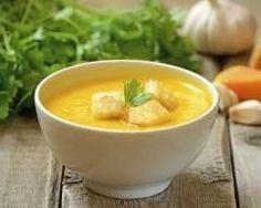 Potage de potiron, maïs et mimolette Ingrédients