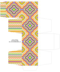 rainbow_box, Free Box Templates to print for gift boxes, wedding favours, kids crafts and gift wrap ideas, printable, box , pattern,template, container,wrap, parent crafts, decor, design, rainbow, cool teen crafts