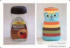 Las cosas de May: Eric Barclay y sus objetos pintados