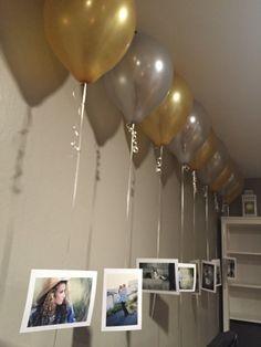 bridal shower decorations 520939881883177299 - Jessiebows bridal shower Source by caroglezalanis Birthday Decorations At Home, Anniversary Decorations, Balloon Decorations Party, Party Themes, Birthday Surprise Boyfriend, Bff Birthday, 18th Birthday Party, Birthday Balloons, Boyfriend Gifts