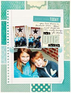 Creating Keepsakes Blog                       - 6-6-11 Repinned: love the blue colours.