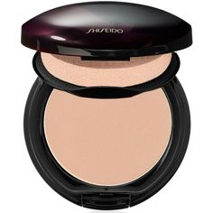 Shiseido 'The Makeup' Powdery Foundation found on Polyvore featuring beauty products, makeup, face makeup, foundation, i natural light ivory, shiseido and shiseido foundation