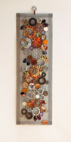 Metal Wall Sculpture, Wall Sculptures, Scrap Recycling, Vintage Jewelry Crafts, Jewelry Art, Found Object Art, Scrap Metal Art, Sheet Metal Crafts, Welding Art