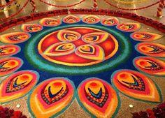 rangoli designs diwali Beautiful Diwali rangoli designs : Rangoli designs for diwali : Drawing rangoli is a tradition that has been passed on from many generations. Initially the diwali rangoli designs were drawn with rice Indian Rangoli Designs, Rangoli Designs Latest, Simple Rangoli Designs Images, Colorful Rangoli Designs, Beautiful Rangoli Designs, Diwali Designs, Kolam Designs, Mehndi Designs, Rangoli Borders