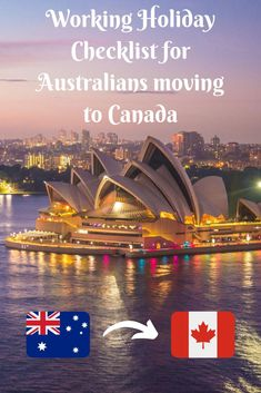 Working Holiday Checklist for Australians moving to Canada Travel Advice, Travel Guides, Travel Tips, Backpacking Canada, Canada Travel, Holiday Checklist, Moving Overseas, Canada Holiday, Canada Canada