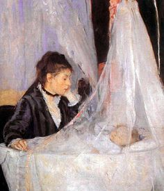 The Cradle - Berthe Morisot (French 1841-1895)