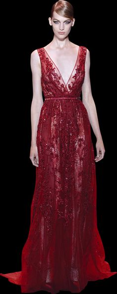Elie Saab Haute Couture Fall 2014 - I'd like this with a slim skirt Couture Fashion, Runway Fashion, Elie Saab Couture, Evening Dresses, Formal Dresses, Moda Fashion, High Fashion, Couture Collection, Beautiful Gowns